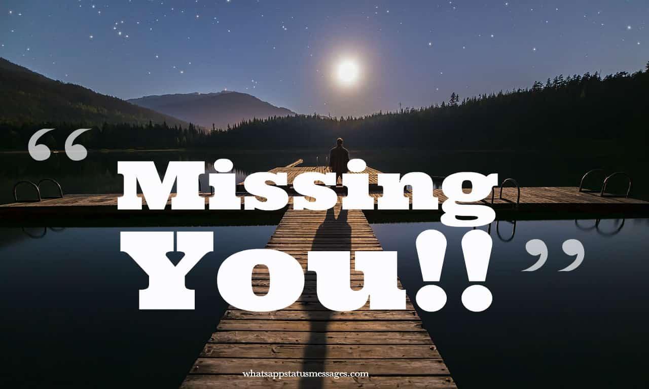 Miss You Bilder Zitate Und Status Für Freundin Und Freund