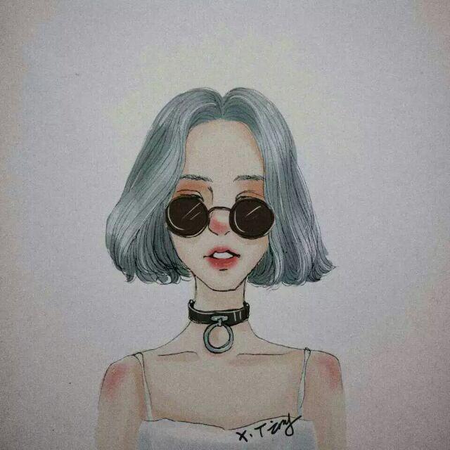 Gambar Kartun Wanita Rambut Panjang Gambar Kartun Wanita Rambut Pendek